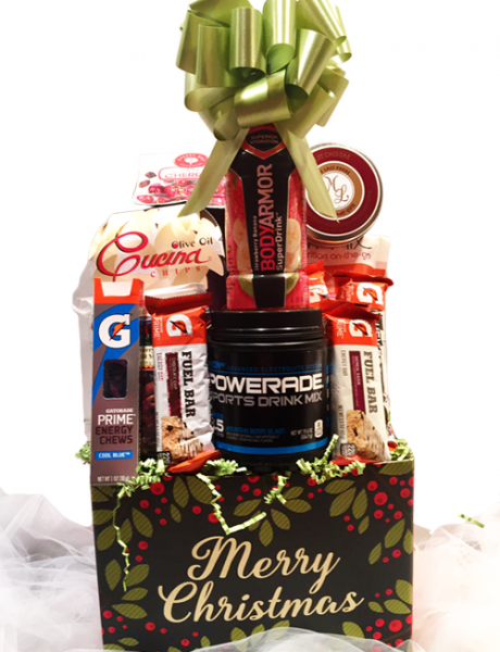 Healthy Christmas Gift Basket – TisketTasket Lansing