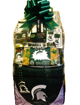 MSU (Michigan State University) Gift Basket