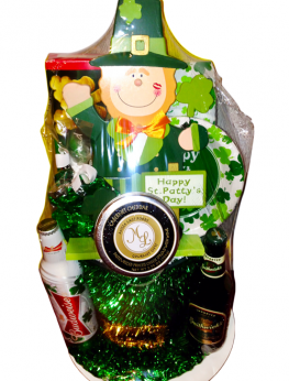 Irish St. Patrick's Day Gift Basket