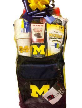 U of M (University of Michigan) Gift Basket