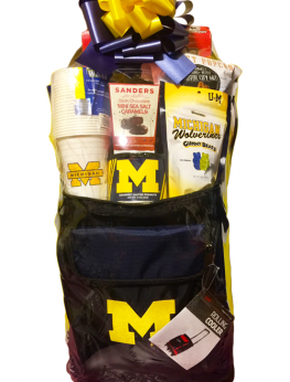 U of M (University of Michigan) Gift Basket