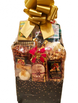 Christmas Warmest Wishes Gift Basket
